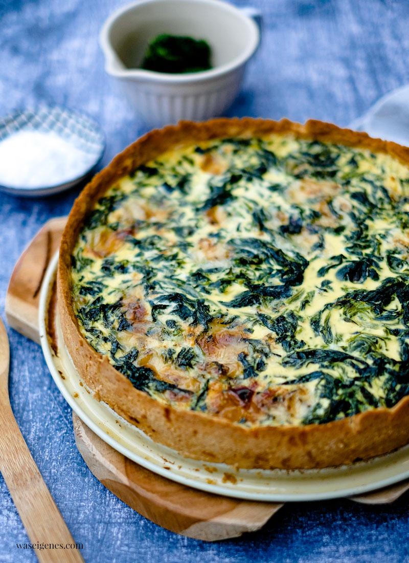 Rezept: Spinat-Gorgonzola-Quiche | waseigenes.com