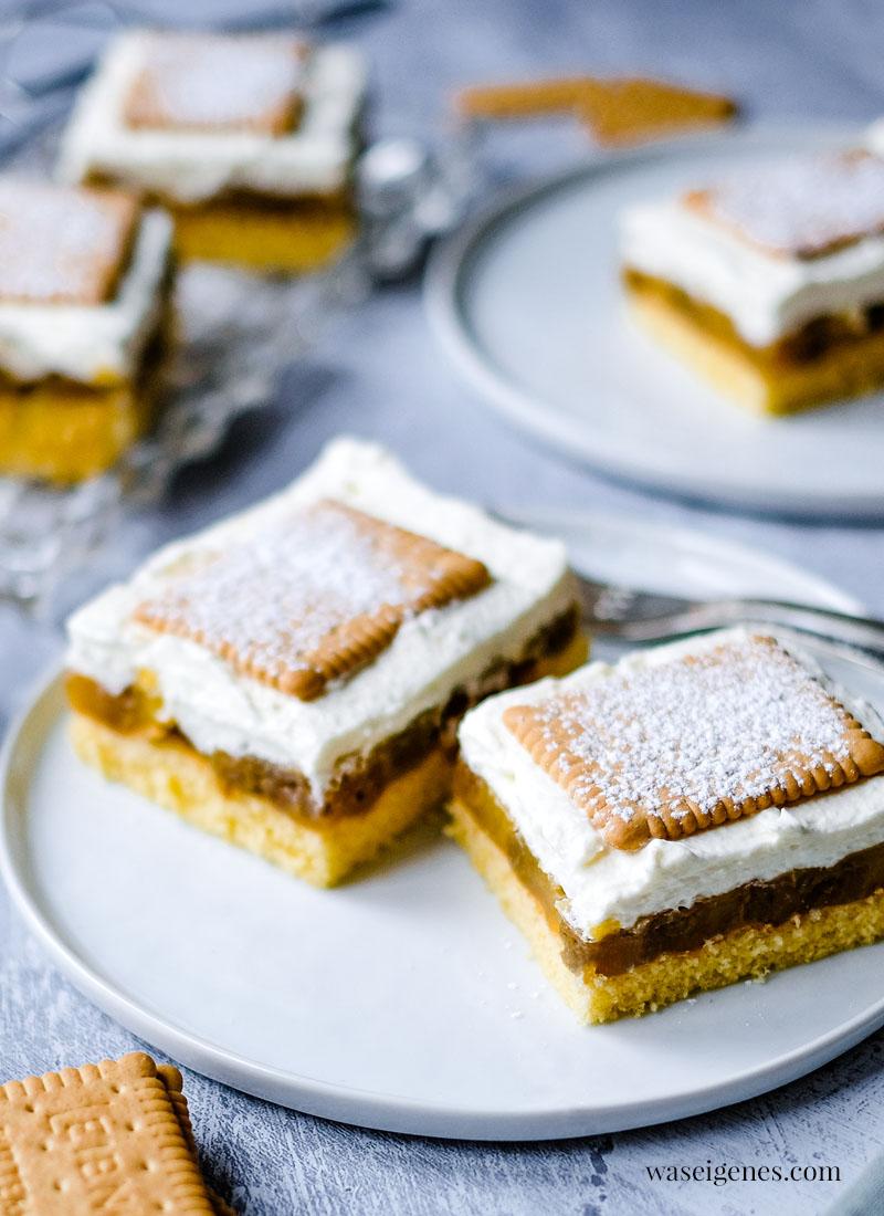 Blechkuchen Rezept für einen Stachelbeerkuchen mit Biskuitboden und Sahnecreme | waseigenes. com | Was backe ich heute? Rezepte für die Familie