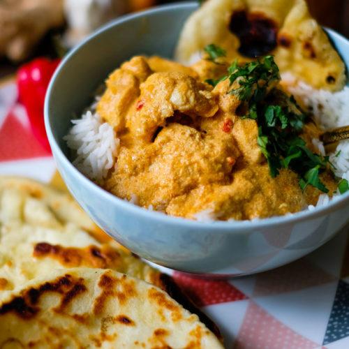 Rezept: Cremiges Butter Chicken Curry aus dem Thermomix | Was koche ich heute? Rezepte für die Familie? | waseigenes.com