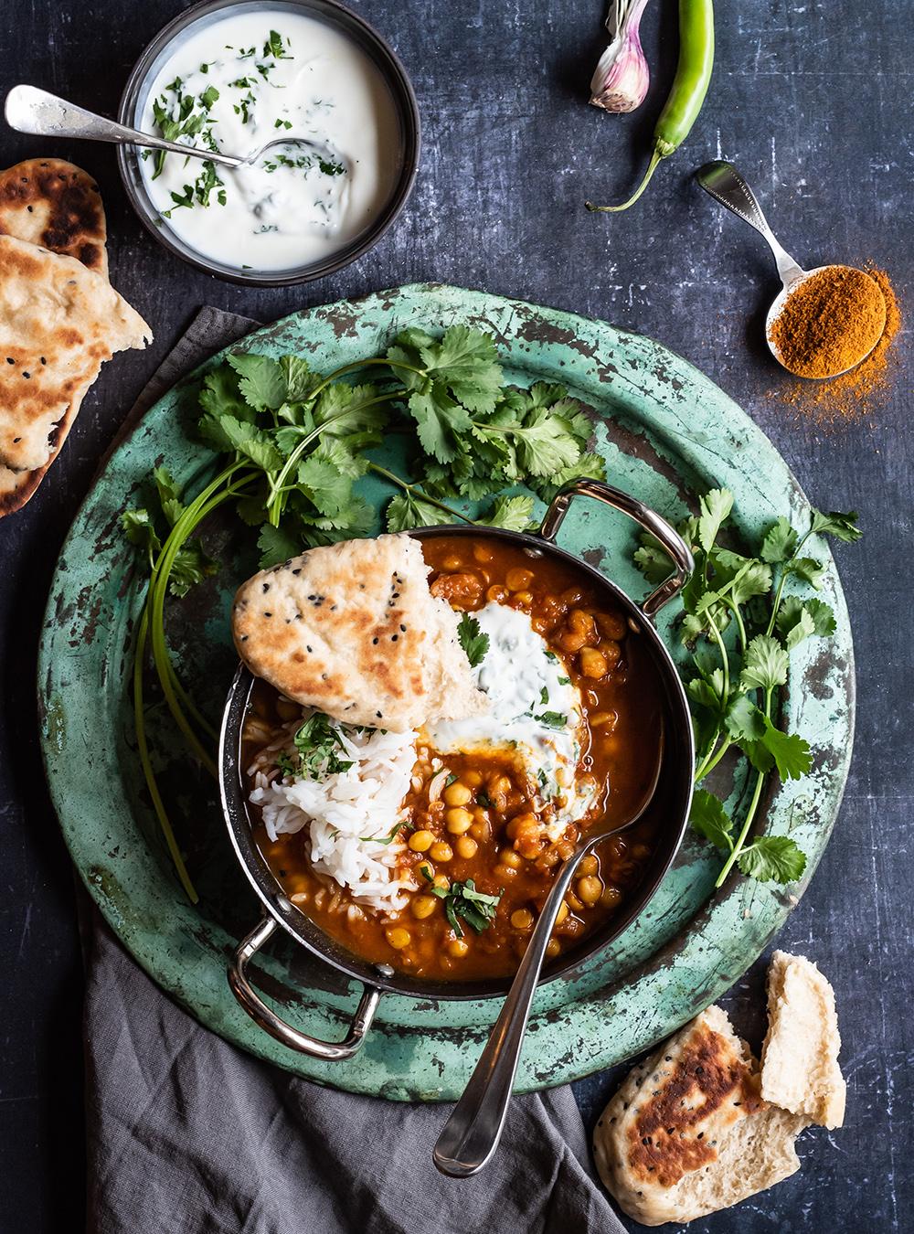 Chana Masal - Original indisches Kichererbsen Curry von S-Küche | Curry aus dem Thermomix