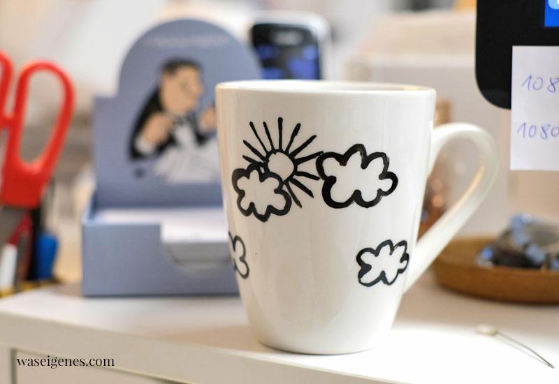 12 von 12 im Februar 2021 - Mein Tag in Bildern | eine monatliche Kolumne | waseigenes.com | Kaffeetasse