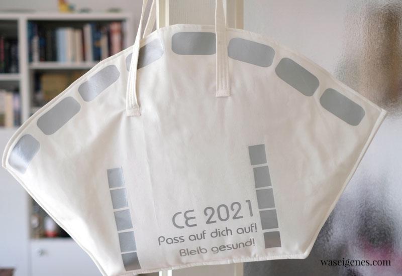 12 von 12 im Februar 2021 - Mein Tag in Bildern | eine monatliche Kolumne | waseigenes.com | FFP2 Handtasche