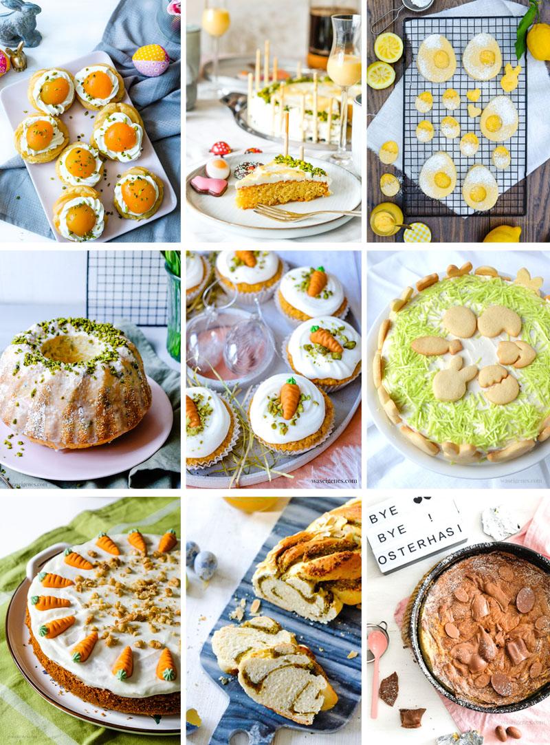 Best of Ostern - 9 Rezepte für die Osterfeiertage | waseigenes.com Was backe ich heute? Was koche ich heute?