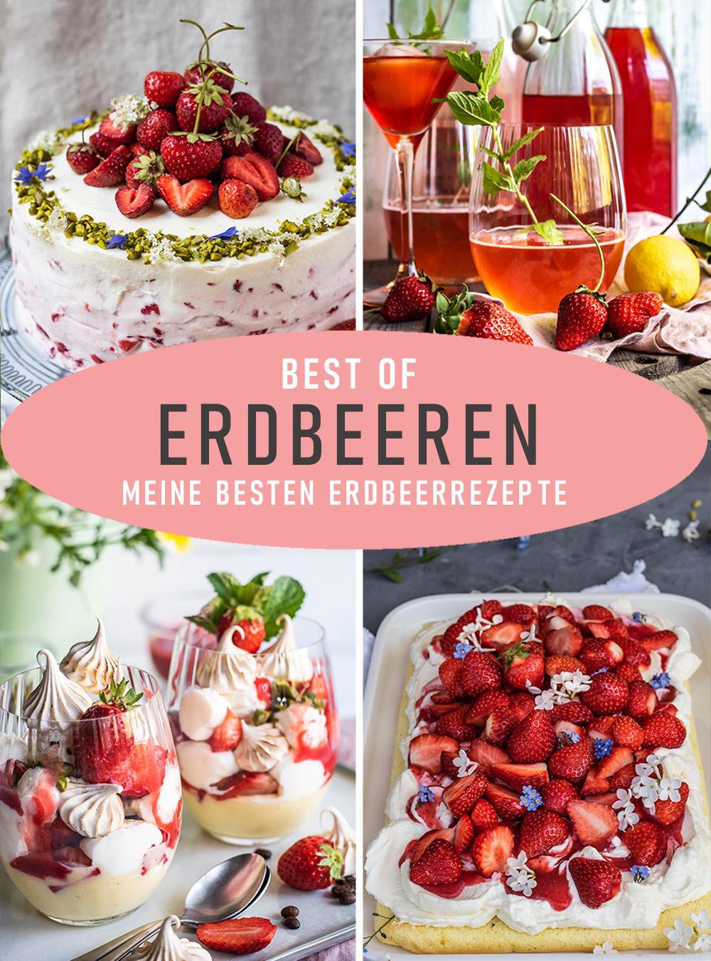Best of Erdbeeren - meine besten Erdbeerrezepte von S-Kueche.com