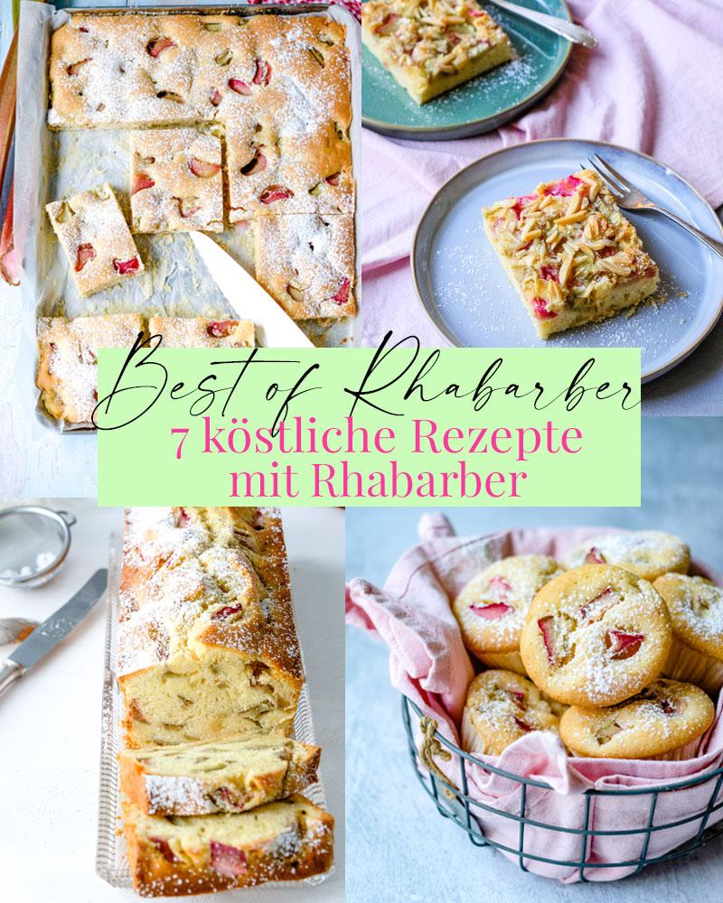 Best of Rhabarber - 7 köstliche und einfache Rezepte mit Rhabarber | waseigenes.com | Was backe ich heute?