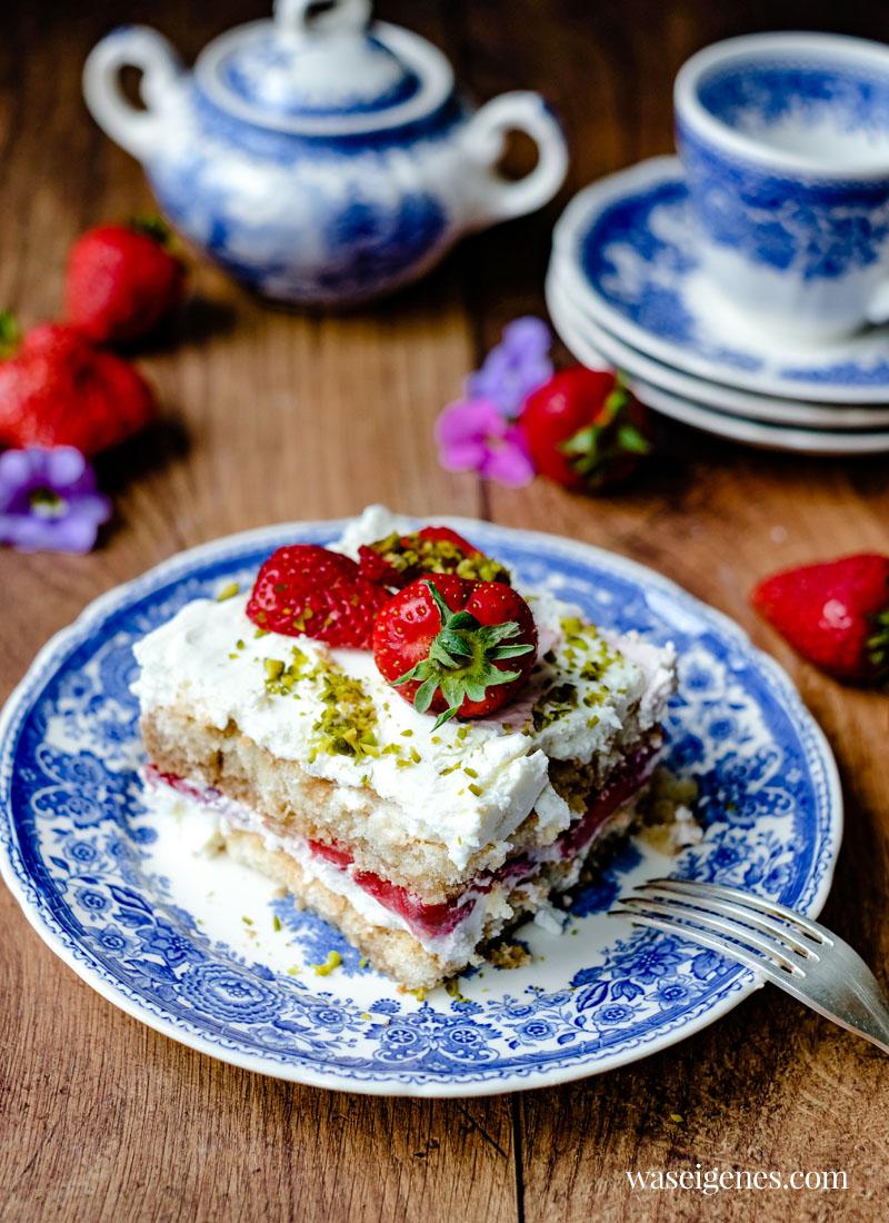 Rezept: Erdbeer Tiramisu | waseigenes.com