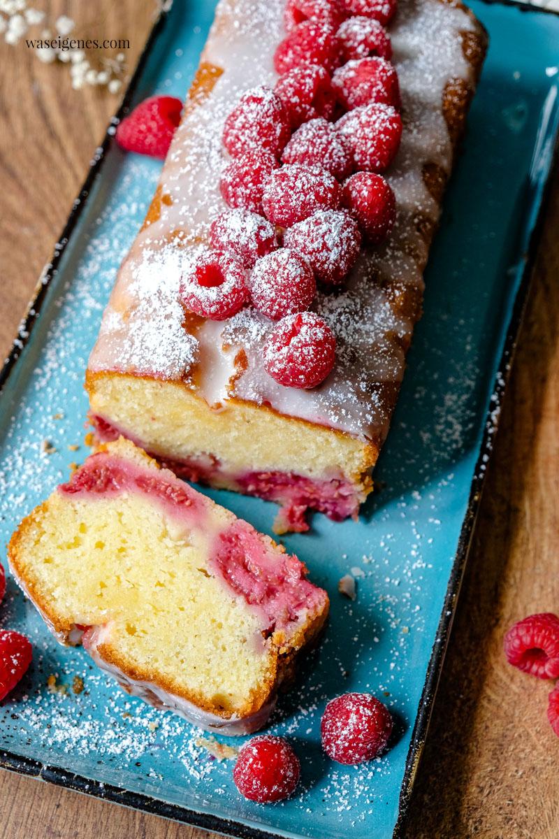 Kastenkuchen Rezept: Himbeer-Schmand-Kuchen. Sehr saftig und fruchtig & einfach | Was backe ich heute? Rezept auf waseigenes.com
