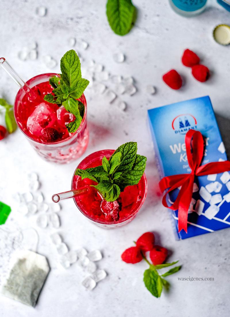 Rezept: Himbeer Gin Tonic mit Minze - ein köstlich erfrischender Sommerdrink   waseigenes.com