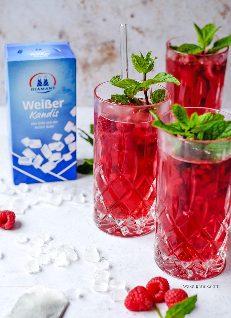 Rezept: Himbeer Gin Tonic mit Minze - ein köstlich erfrischender Sommerdrink   waseigenes.com - Sabine Güllich