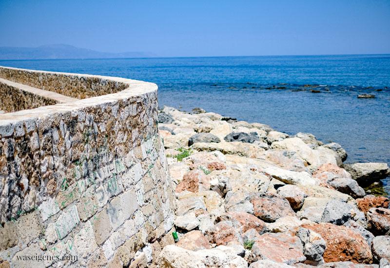 Chania - Kreta, Griechenland - venezianische - venezianische Hallen am Hafen    Familienurlaub   waseigenes.com