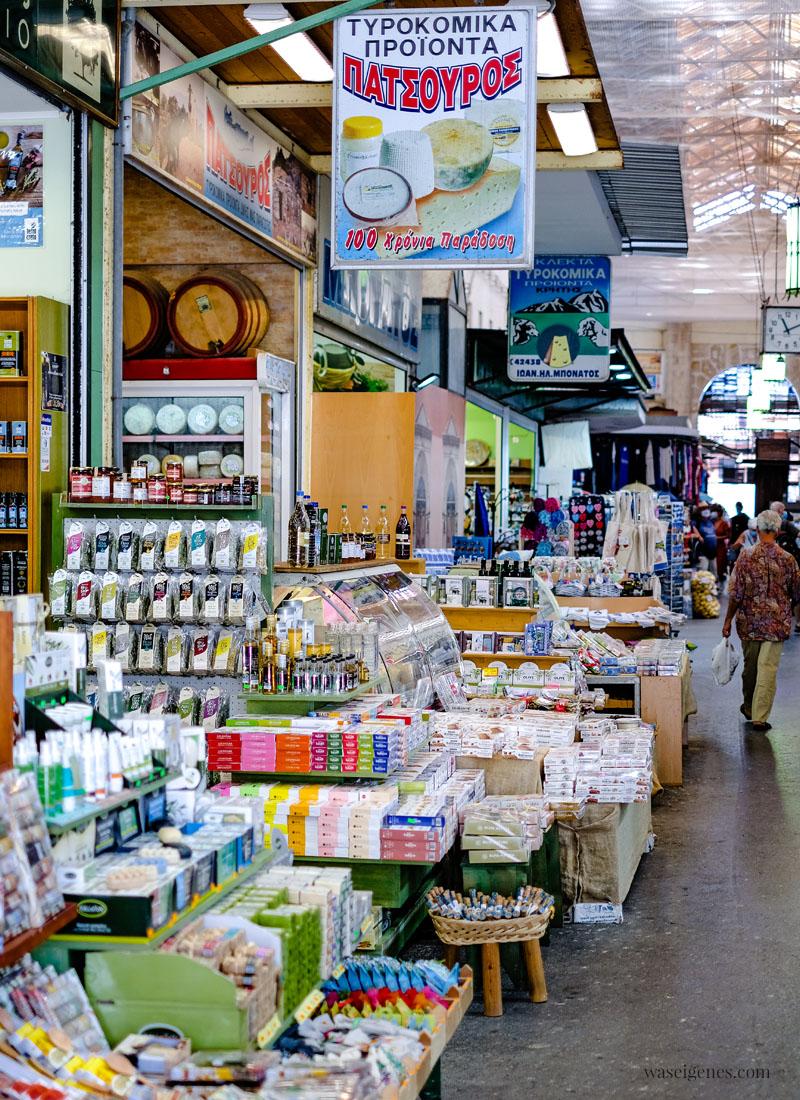 Chania - Kreta, Griechenland - venezianische Hafenstadt im Norden der Insel   Markthallen   Familienurlaub   waseigenes.com ~ Bine Güllich