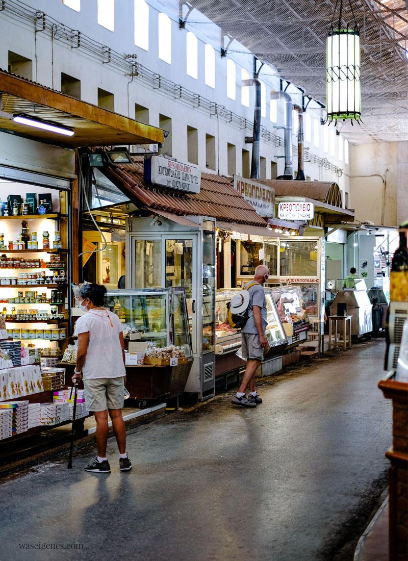 Chania - Kreta, Griechenland - venezianische Hafenstadt im Norden der Insel   Markthallen   Familienurlaub   waseigenes.com