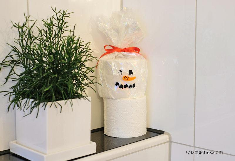 12 von 12 im September 2021   Mein Tag in Bildern   waseigenes.com   Toilettenpapier Schneemann