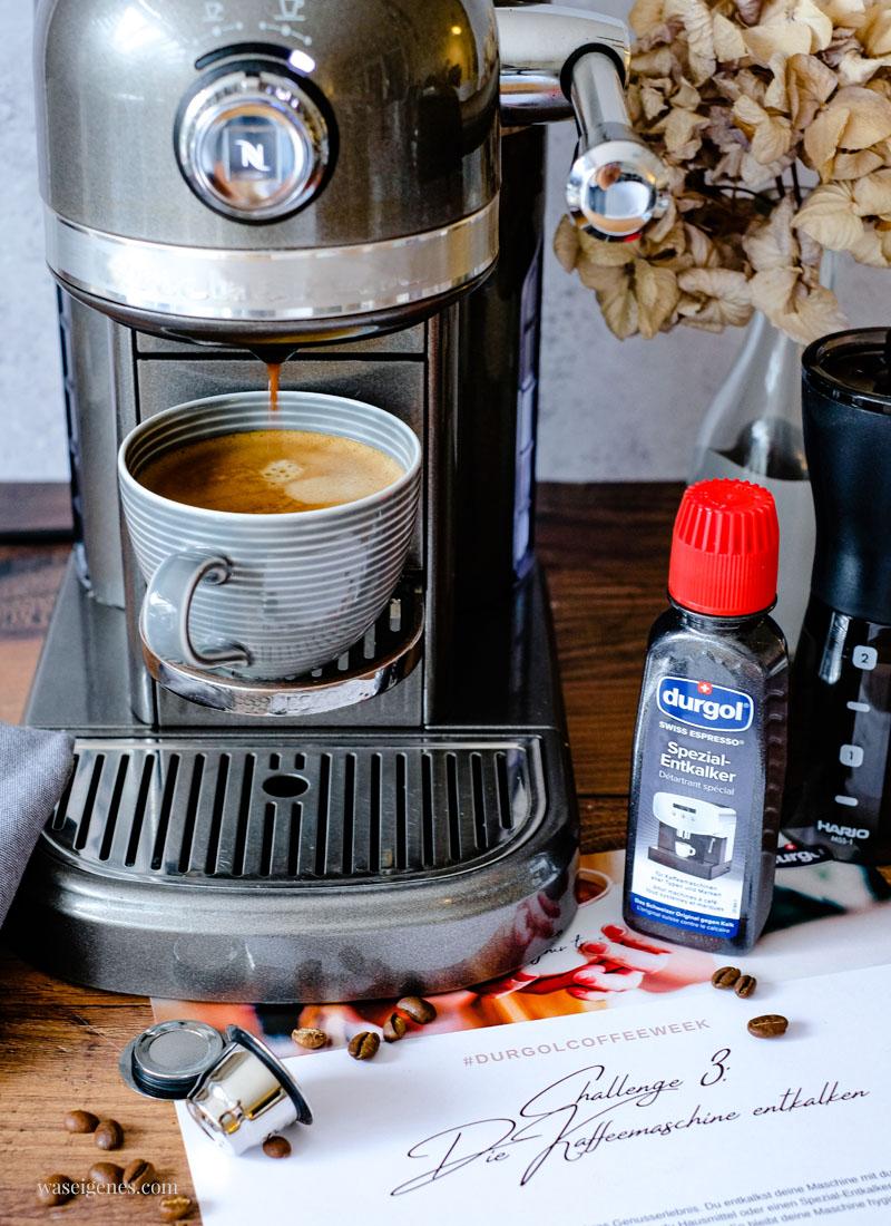 #durgolcoffeeweek - Kaffeemaschine reinigen und entkalken | waseigenes.com